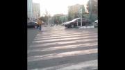 دریفت مرسدس بنز C-class در تهران