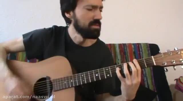 اجرای تیتراژ اولیه سریال بازی تاج و تخت با گیتار