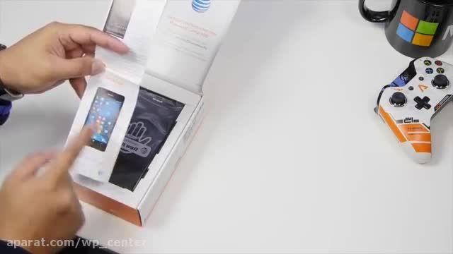 جعبه گشایی لومیا 950