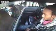 پلیس زبل و گرفتن اسلحه مجرم داخل خودروی پلیس امریکا
