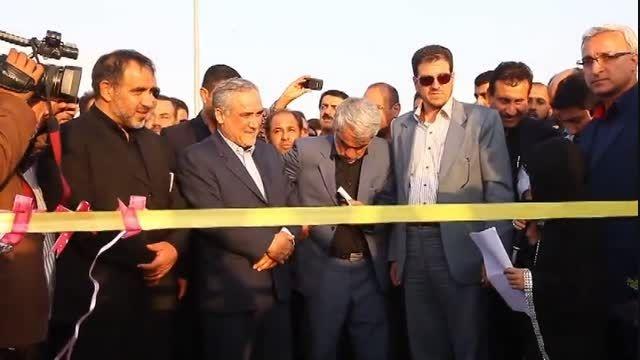 افتتاح بندر شادگان با حضور استاندار خوزستان