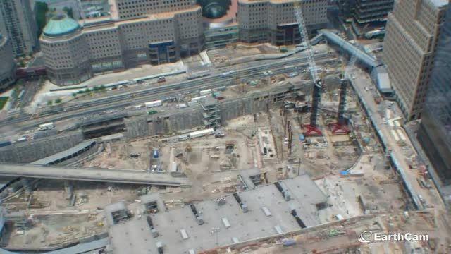 ساخت مرکز تجارت جهانی در 2 دقیقه
