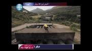 صحنه های دیدنی از دوچرخه سواری نمایشی