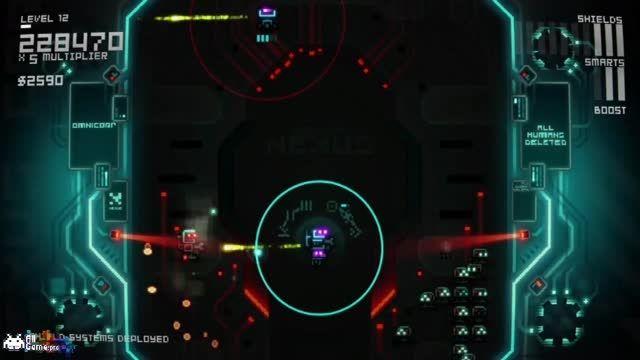 بخش چهارمین گیم پلی بازی آرکید Ultratron از سایت آل گیم