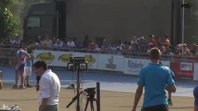 فینال مسابقات جهانی 300 متر سرعت مردان