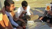 اردوی جهادی  نوروز 92 سراوان  صبحانه قسمت    سوم