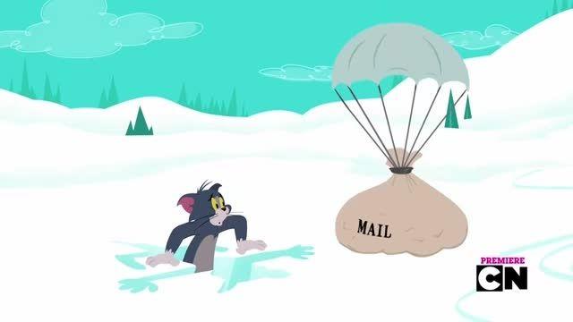 انیمیشن Tom and Jerry Santas Little Helpers 2014 720p