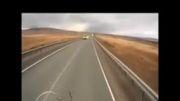 راننده ناشی حادثه آفرید!!!