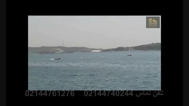 نمایی از دریاچه چیتگر