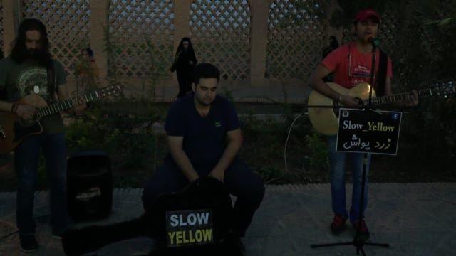 زرد یواش / slow yellow : اجرا در کرمان 3