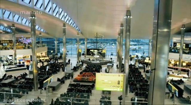 فرودگاه هیترو با زیرنویس فارسی - پرواز های خروجی