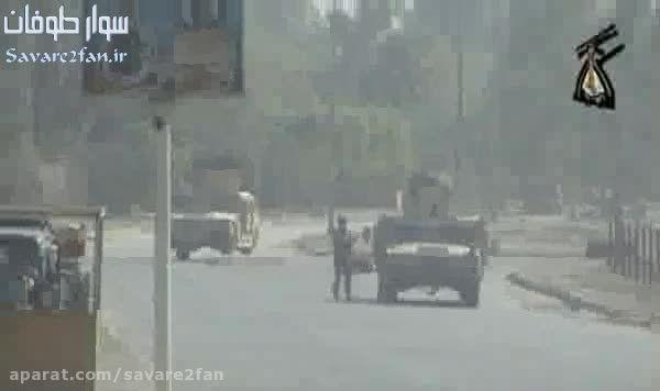 کشته شدن سرباز امریکایی بدست تک تیرانداز عراقی!