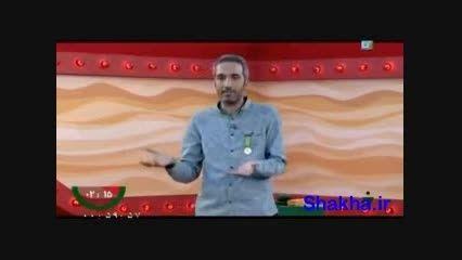 اجرای امیر مهدی ژوله در مرحله سوم مسابقه خنداننده برتر
