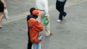 کلکل خیابونی هیپ هاپ دنس دوقلوهای له