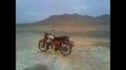 اولین موتور سیکلت بی سرنشین