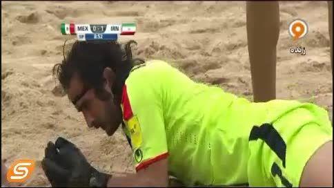 جام جهانی فوتبال ساحلی ایران 3 - مکزیک2