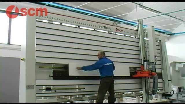 پانل بر ایستاده شرکت scm ایتالیا مدل Verticut
