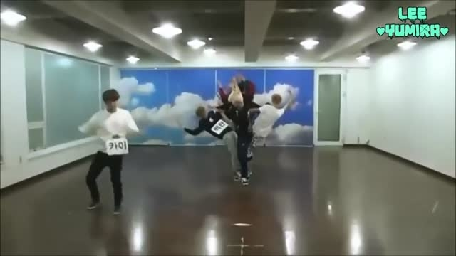 EXO WOLF Dance Practice