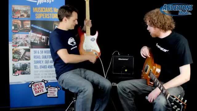 تست آمپلی فایر گیتار Blackstar HT1