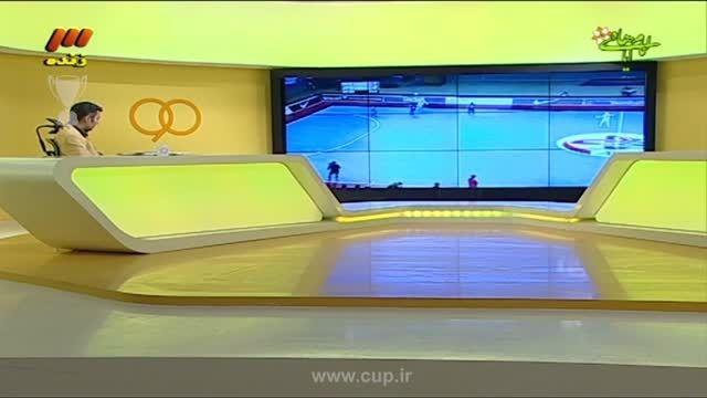 برنامه نود؛ گزارش قهرمانی تیم ملی فوتسال بانوان ایران