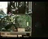 تعمیر قسمت پاور تلویزیون ال سی دی مارک lcd polaroid