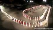 بزرگترین دومینو جهان چین دختر دختر دختر