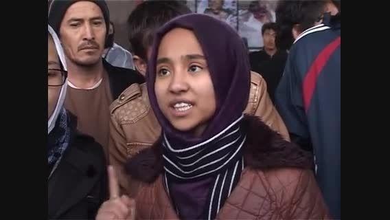سخنان سنجیده و زیبای یک دختر 9 ساله افغان به رهبرانش