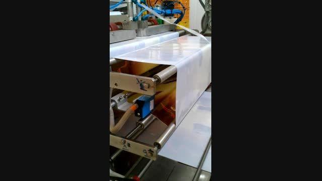 دستگاه پاکت ساز-پرکن-بسته بندی دوی پک زیپدار با دستگیره