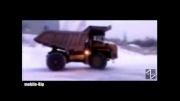 ویراژ با ماشین آلات معدنی