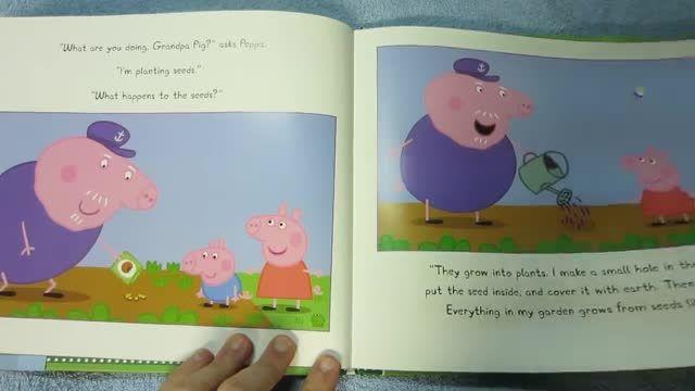 دانلود کتاب داستان انگلیسی Peppa Pig and the Vegetable