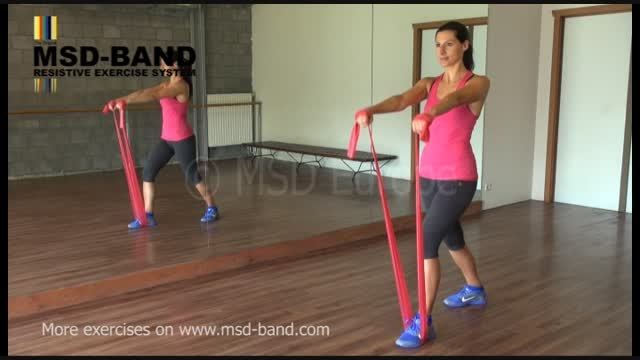 تمرین شماره 3- کششی تقویت عضلات سینه