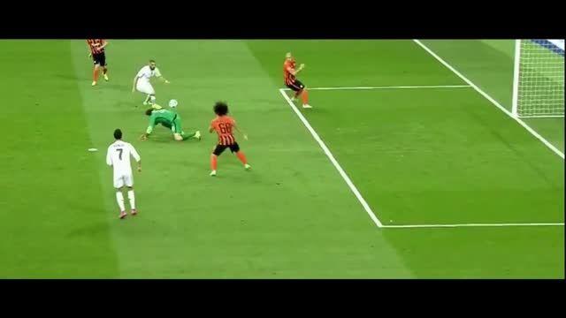 رئال مادرید 4 - 0 شاختار ( هتریک رونالدو ) لیگ قهرمانان