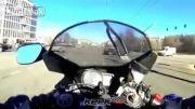 تصادف خیلی شدید موتور سیکلت :)) :))