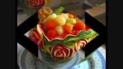 تزئین میوه برای شب یلدا