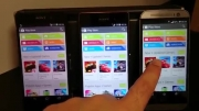 Xperia Z2 vs Xperia Z3 vs One M8 - Screen Quality