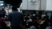 سفر مشهد مقدس/عزاداری لرستانی ها در صحن جامع رضوی