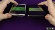 مقایسه ی صفحه نمایش Sony Xperia Z1 با Samsung Galaxy S4