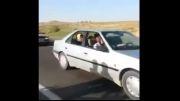تصادف وحشتناک تریلی و موتور سیکلت تو عروسی !!!