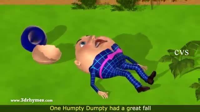 مجموعه شعر های humpty dumpty