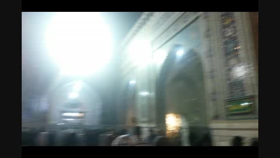 اینجا مشهد- حرم امام رضا علیه السلام- پنجره پولاد