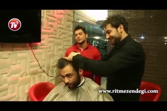 مصاحبه با آرایشگر ستاره های ایران!