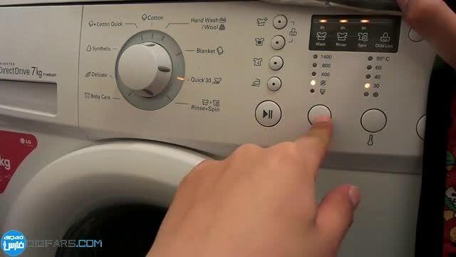 سونی Xperia M4 aqua در ماشین لباسشویی