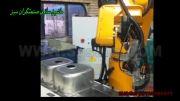 ربات تزریق فوم pu  مخصوص نوار آب بندی سینک ظرفشویی