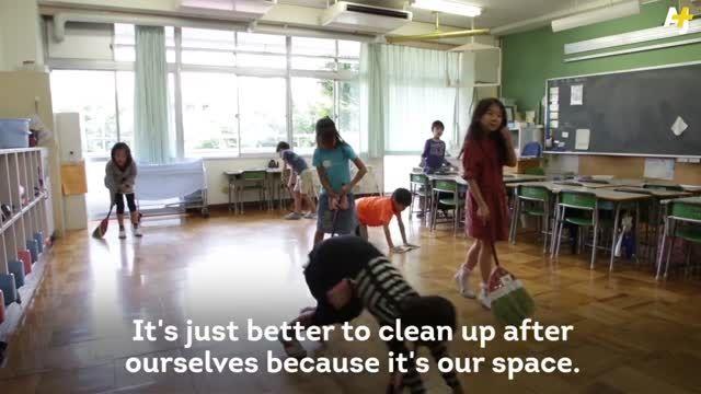 کودک ژاپنی چگونه مسئولیت پذیری را در مدرسه یاد می گیرد؟