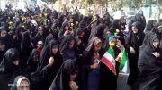حرکت عظیم مردمی عید غدیر خم در دولت آباد - 21 مهر 93