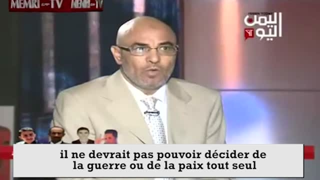 حمله جنگنده های سعودی به تلویزیون یمن حین برنامه زنده!!