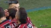 آث میلان 1-2 ساسولو - گل های بازی (سری آ ایتالیا)