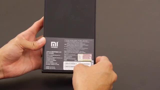 آنباکسینگ گوشی شیائومی Mi Note Pro