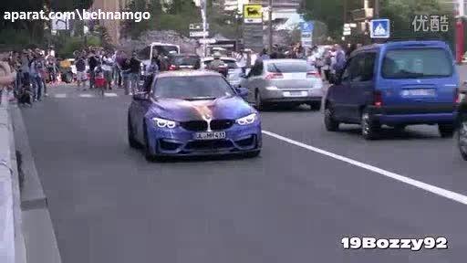 زیباترین BMW جهان در خیابان...!