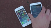 ویدئو Samsung Galaxy S5 vs iPhone 5S Drop Test
